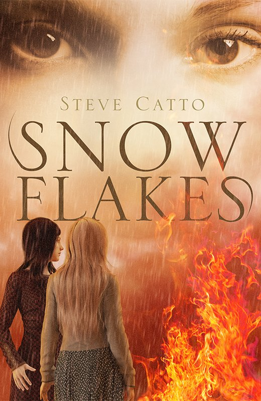 Book Cover Design for Steve Catto – Snowflakes